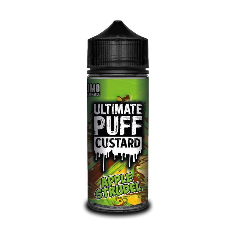 Ultimate Puff Ultimate Puff Apple Strudel Custard - 100ml Shortfill Eliquid