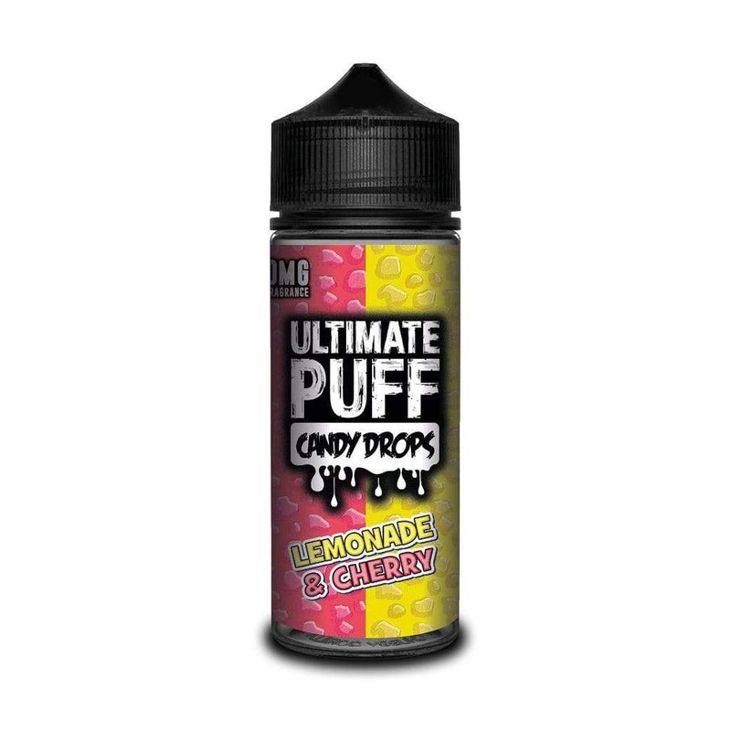 Ultimate Puff Ultimate Puff Lemonade & Cherry Candy Drops - 100ml Shortfill Eliquid