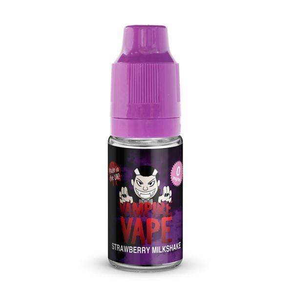 Vampire Vape Vampire Vape 10ml E-Liquid - Strawberry Milkshake