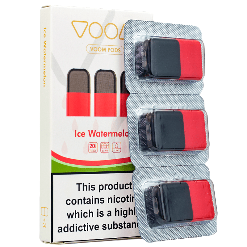 VOOM Ice Watermelon Voom Replacement Pods 3 Pack