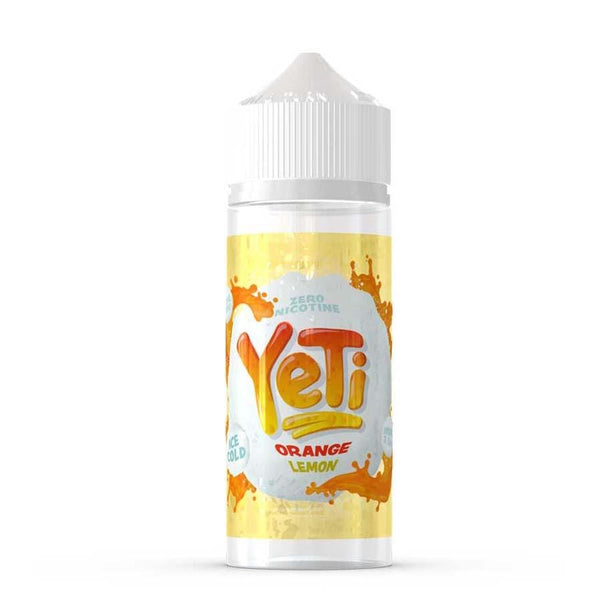 Yeti Yeti 100ml Shortfill E-Liquid - Orange Lemon