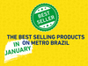 The best selling products at Metro Brazil in January