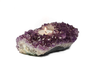 Rock Paradise Brazilian Natural Amethyst Crystal Candle Holders Quartz - Metro Brazil