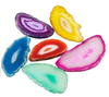 Multi Colored Brazilian Agate Slices Exclusive - Metro Brazil