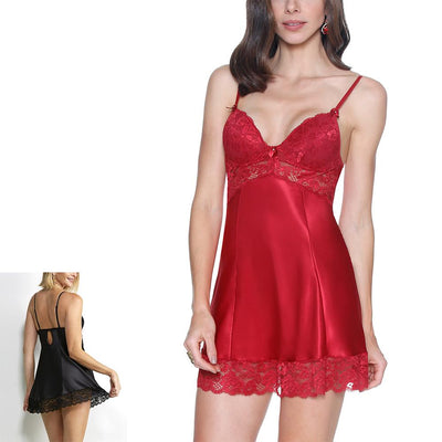 Short Camisole with Padded Cups by Fruit De La Passion Luxury Lingerie - Metro Brazil