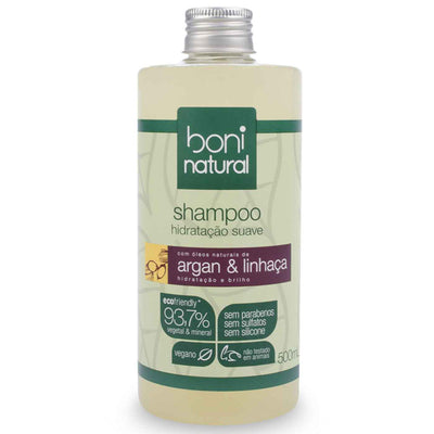 Boni Natural Argan and Flaxseed Shampoo
