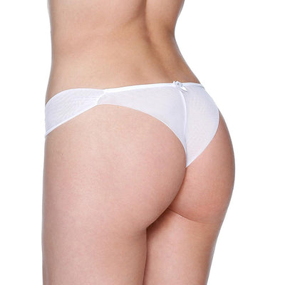 Draped Thong Panty by Fruit De La Passion Luxury Lingerie - Metro Brazil