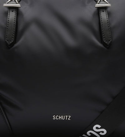 Schutz SHOPPING BAG NYLON - BLACK