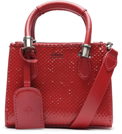 Schutz BABY TOTE NEW LORENA SNAKE - Red