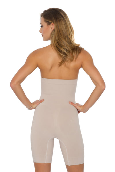 High Waist Bermuda Corset Body Shaper