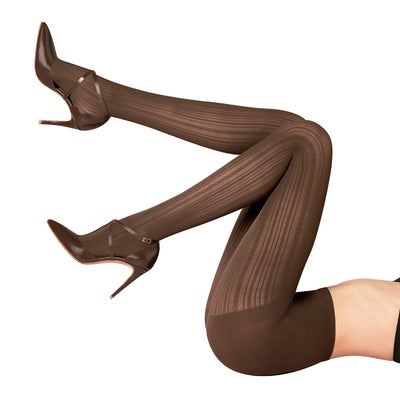 Loba Knitting Design Pantyhose for Women by LUPO