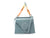 Arezzo Mila Small Leather Shoulder Bag - New Cielo Blue