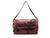Arezzo Medium Leather Shoulder Bag - RASPBERRY