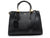 Schutz NEW LORENA SNAKE GLAM Bag - BLACK TOTE