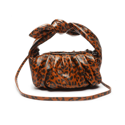 Schutz DEMY KNOT CROSSBODY Bag - ANIMAL PRINT
