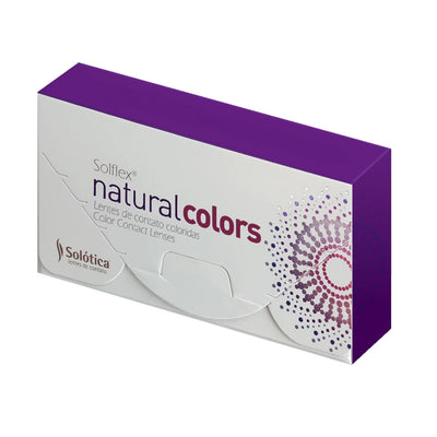 Solflex Natural Colors - Monthly - Solotica Cosmetic Contact Lenses - Cristal