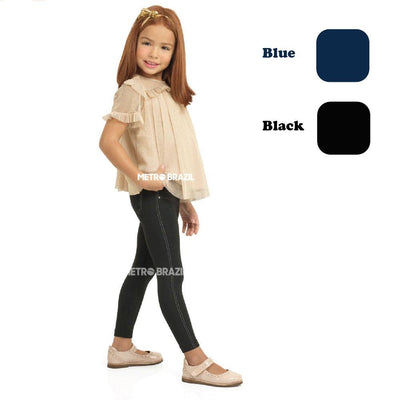 Kids - Lobinha Pantyhose Legging Jeans Style By Lupo