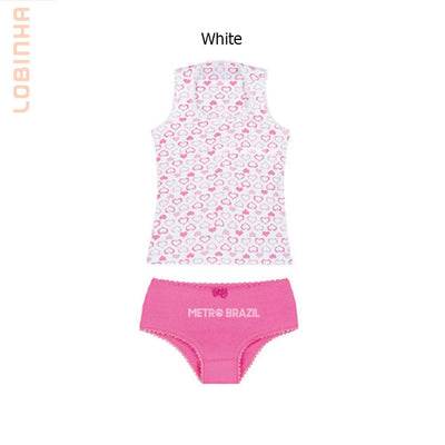 Kids Underware - Brazilizan Lobinha Cotton Children's Underwear Set By Lupo