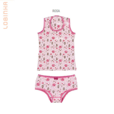 Brazilizan Lobinha Cotton Children's Underwear Set by Lupo - Metro Brazil
