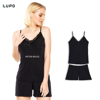 Short Doll Pajamas for Women by Lupo - Metro Brazil