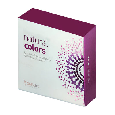 NATURAL COLORS - Yearly - Solotica Cosmetic Contact Lenses - Grafite