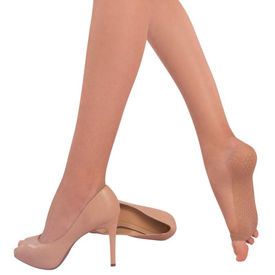 Loba Transparent Fingers Free Pantyhose with Nonslip Sole for Women by LUPO - Metro Brazil