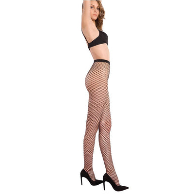 Women FISHNET NET PATTERN PANTYHOSE by LUPO - Metro Brazil