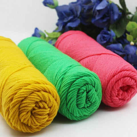Soft Milk Cotton Woolen Yarn