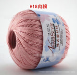 LACE YARN 100% COTTON 50G/PC