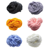 Arm Knitting Yarn , Roving Wool