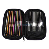 Multicolour Aluminum Crochet Hooks 22pcs