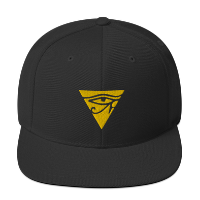 GOLD EYE LOGO SNAPBACK