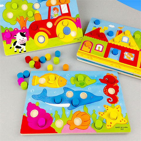 Color Cognition Board Montessori Educational Toys