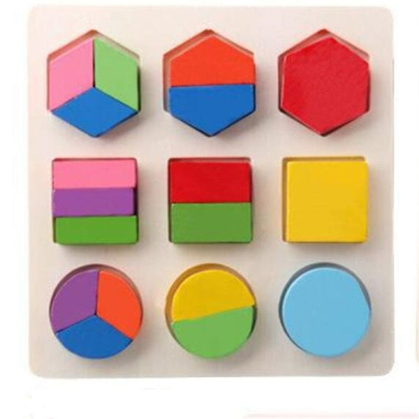 Color Cognition Board Montessori Educational Toys For Children Wooden Toy Jigsaw Kids Early Learning Color Match Game