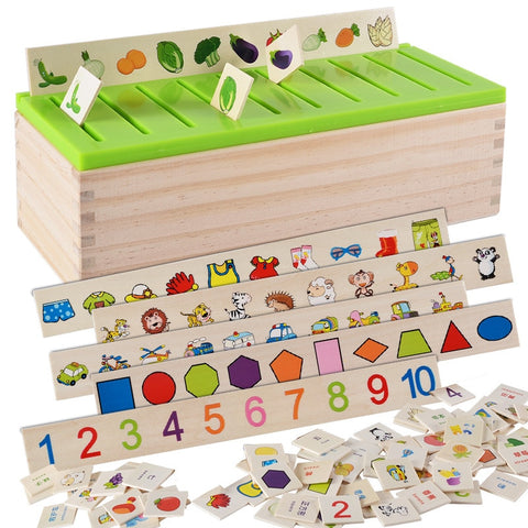 Mathematical Knowledge Classification Cognitive Matching Kids Montessori