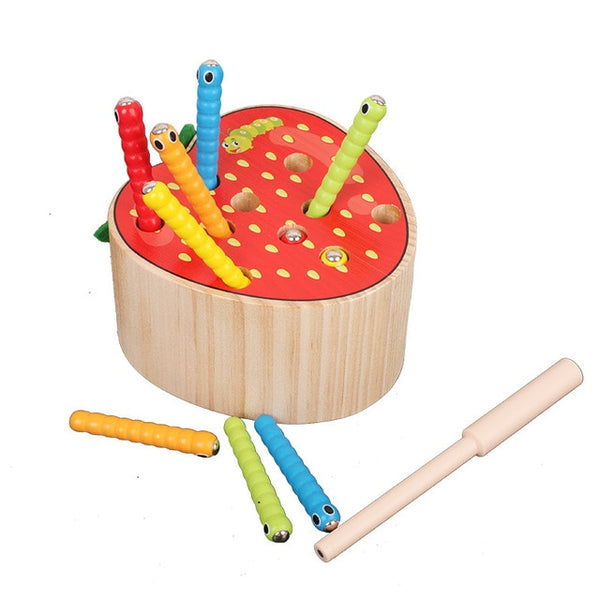 3D Montessori Wooden Toys Caterpillar