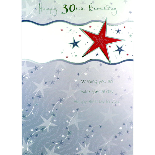 30th Birthday Card - Extra Special Day