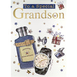 Grandson Birthday Card - Just For You