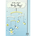 New Baby Card - A Little Boy