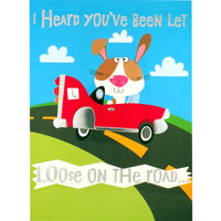 Congratulations Card - Loose on The Road