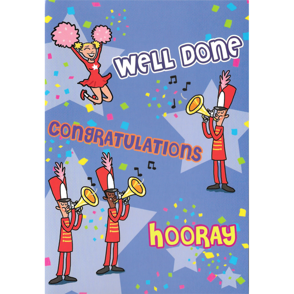 Congratulations Card - Hooray