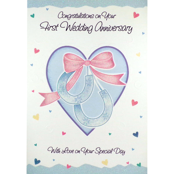 Anniversary Card - With Love on Your Special Day