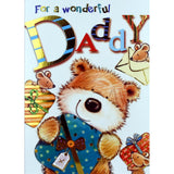 Daddy Birthday Card - For a Wonderful Daddy