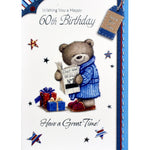 60th Birthday Card - Have a Great Time!