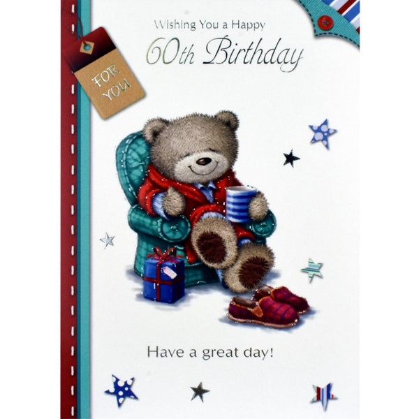60th Birthday Card - Have a Great Day