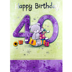 40th Birthday Card - Enjoy Your Special Day