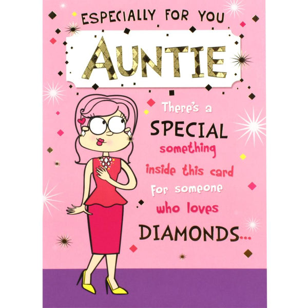 Auntie Birthday Card On Your Birthday Cards Valley