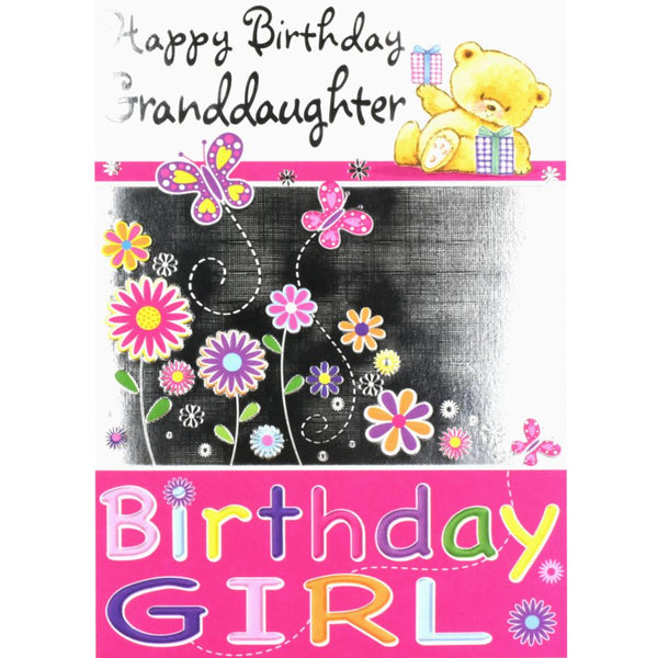 Granddaughter birthday card with love cards valley granddaughter birthday card with love bookmarktalkfo