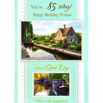 85th Birthday Card - You're 85 Today!