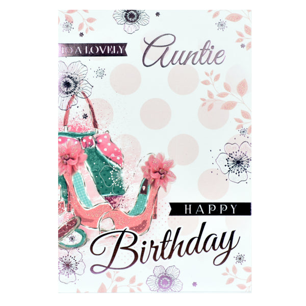 Auntie Birthday Card - Special Day